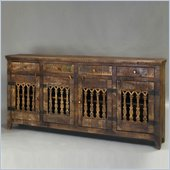 Pulaski Accents Rustic Chic Console in Jodhpur