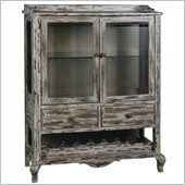 Pulaski Accents Rustic Chic Wine Cabinet in Connor