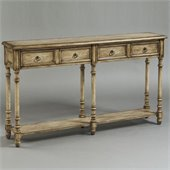Pulaski Accents Rustic Chic Console Table in Dune