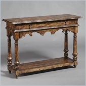 Pulaski Accents Rustic Chic Console in Hampton