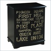 Pulaski Accents Rustic Chic Accent Chest in Union