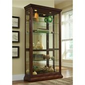 Pulaski Eden House Curio Cabinet