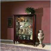Pulaski Cardigan Mantel Curio Cabinet