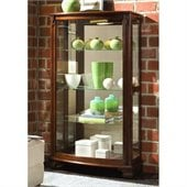 Pulaski Gallery Mantel Curio Cabinet
