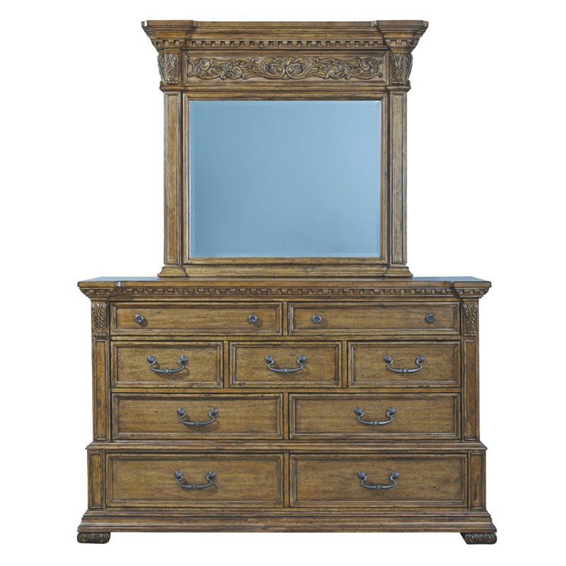 Pulaski Dresser in Brown
