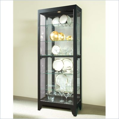 Pulaski Onyx Curio Cabinet 