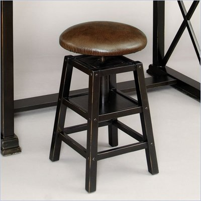 Pulaski Accents Architect Stool in Arbor Finish