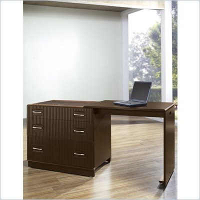 Pulaski Accents Desk Chest in Espresso Finish