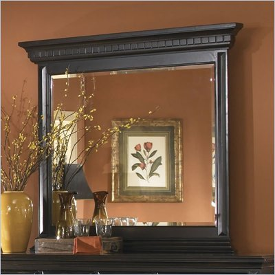 Pulaski Brookfield Mirror in Ebony Finish