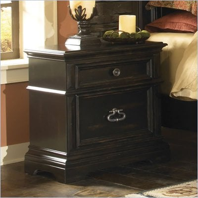 Pulaski Brookfield Nightstand in Ebony Finish