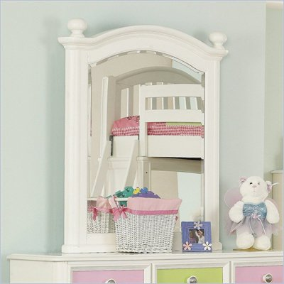 Pulaski Build-A-Bear Pawsitively Yours Kids Vertical Mirror in Vanilla