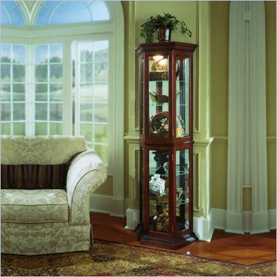 Pulaski Preference Curio Cabinet