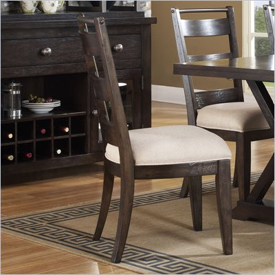 Pulaski Del Ray Ladder Bacl Side Chair in Rich Wood Tone