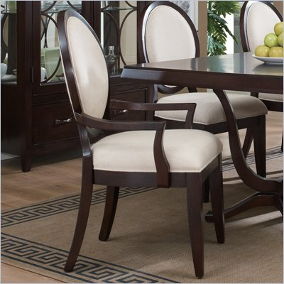 Pulaski Plaza Square Dining Arm Chair