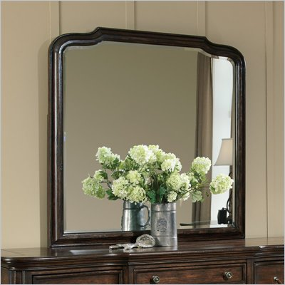 Pulaski Saddle Ridge Mirror in Aged Pecan Finish