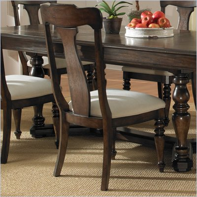 Pulaski Saddle Ridge Side Chair in Aged Pecan