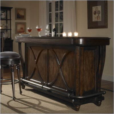 Pulaski Saddle Ridge Bar in Aged Pecan