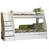 Berg Furniture Enterprise Lofts Twin Over Full Bunk Bed