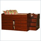 Berg Furniture Sierra Full Captain's Bed