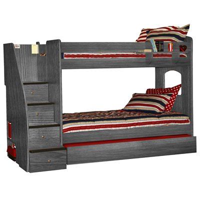 Berg Furniture Enterprise Lofts Twin Over Twin Bunk Bed