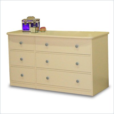 Berg Furniture Sierra 6 Drawer Double Dresser