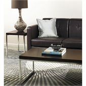 Avenue Six Wall Street Espresso Coffee Table and End Table Set