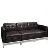 Avenue Six Wall Street 3-Piece Sectional Sofa