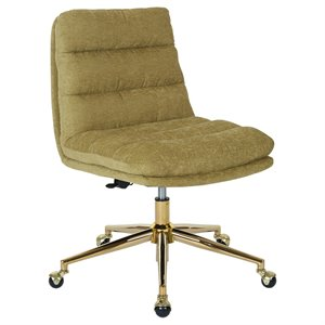 Avenue Six Legacy Swivel Armless Office Chair in Olive