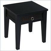 Avenue Six Banyan End Table in Black