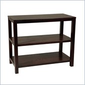 Avenue Six Merge Foyer Console Table in Espresso