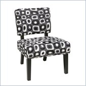 Avenue Six Jasmine Accent Chair in Twilight Grey