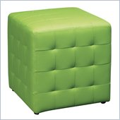 Avenue Six Detour 15 Mesh Fabric Cube in Green