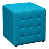 Avenue Six Detour 15 Mesh Fabric Cube in Blue