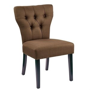 Avenue Six Andrew Dining Chair in Otter