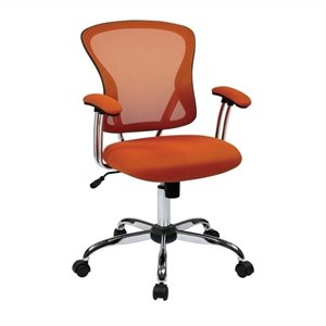 Avenue Six Juliana Task Office Chair in Orange