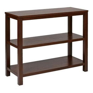 Avenue Six Merge Console Table in Mahogany