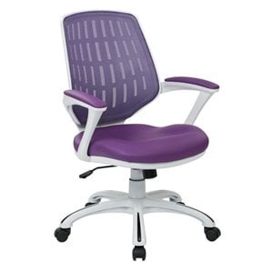 Avenue Six Calvin Office Chair in Purple