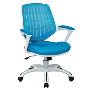 Avenue Six Calvin Office Chair in Blue