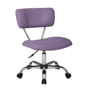 Avenue Six Vista Task Office Chair in Purple