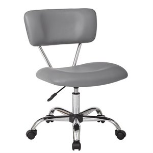 Avenue Six Vista Task Office Chair in Grey
