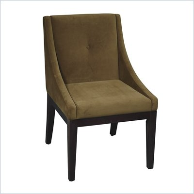 Avenue Six Curves Willow Chair in Brushed Olive