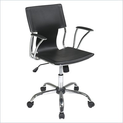 Avenue Six Dorado Office Chair in Black