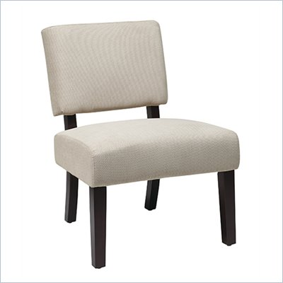 Avenue Six Jasmine Accent Chair in Finesse Jute