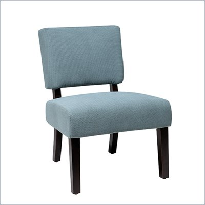 Avenue Six Jasmine Accent Chair in Finesse Azure