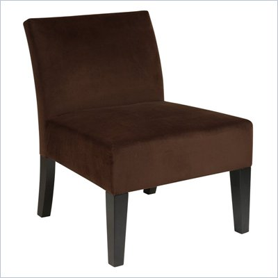 Avenue Six Laguna Chair in Brushed Chocolate