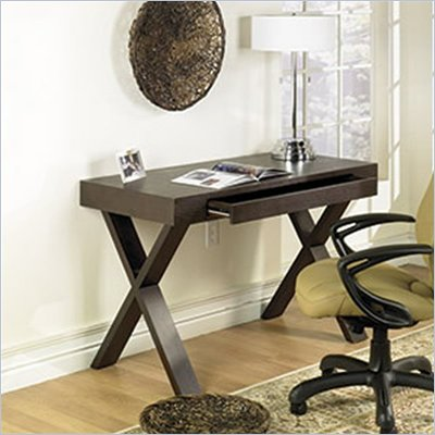 Avenue Six Lane Wood Laptop Desk in Espresso