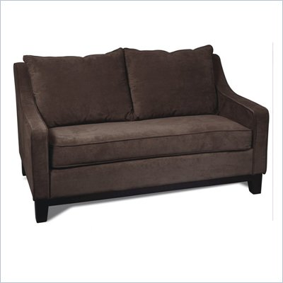 Avenue Six Regent Love Seat in Easy Walnut