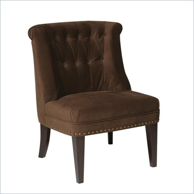 Avenue Six Ventana Chair in Brushed Chocolate