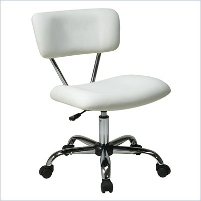 Avenue Six Vista Task Office Chair in White