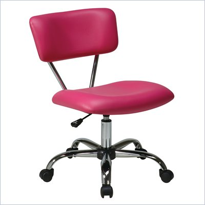 Avenue Six Vista Task Office Chair in Pink